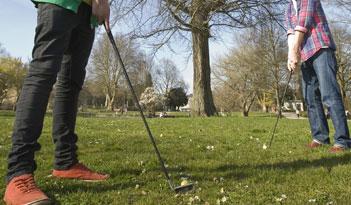 Cross Golf in Ulm